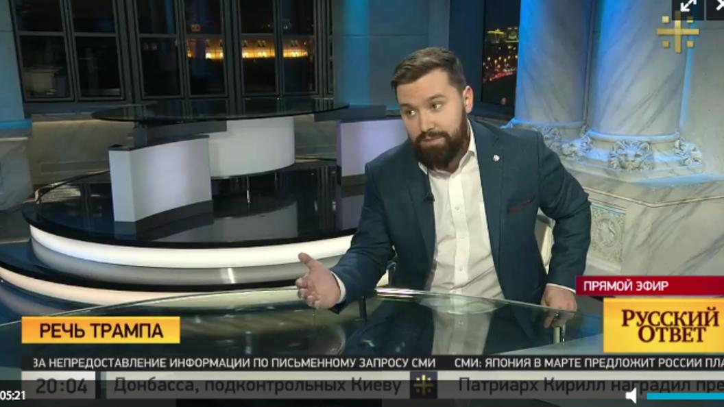 Егорченков: СМИ формируют образ врага в США