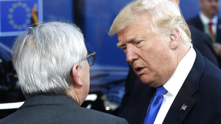 Смогут ли США и ЕС погасить торговую войну
