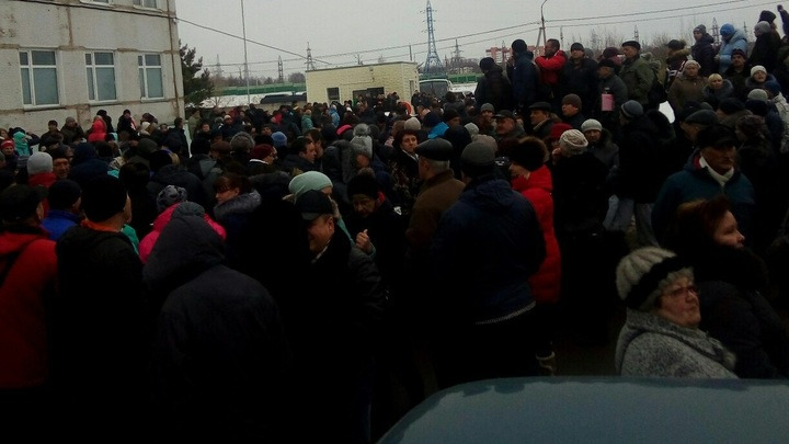 Организатор митинга в Волоколамске заявил о задержании полицией