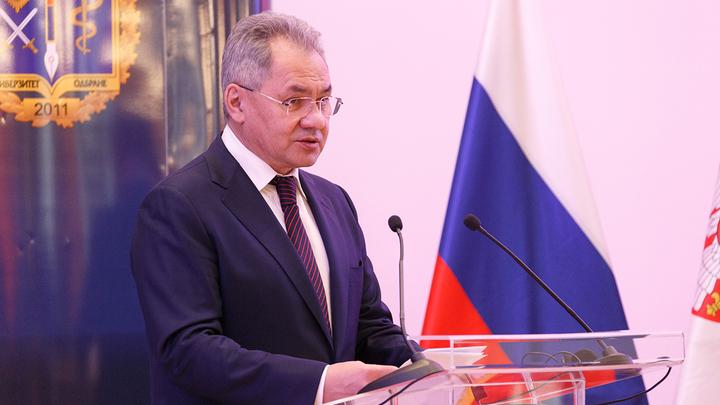 Шойгу анонсировал на встрече с Лукашенко военные манёвры России и Белоруссии