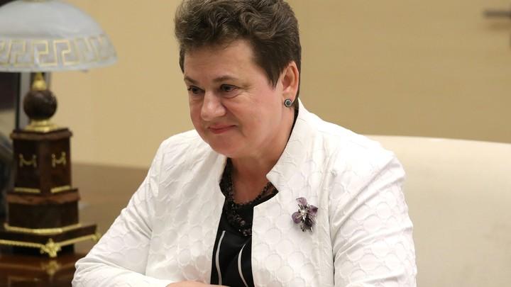 Жаль, не посчитала раньше: Аудитора Орлову упрекнули в низких пенсиях при ее губернаторстве