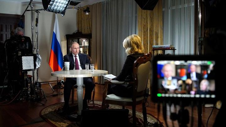 Как журналистка из США пыталась надавить на Путина