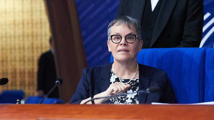 Вы должны уйти: Председатель ПАСЕ разгневалась из-за антироссийской выходки на дебатах