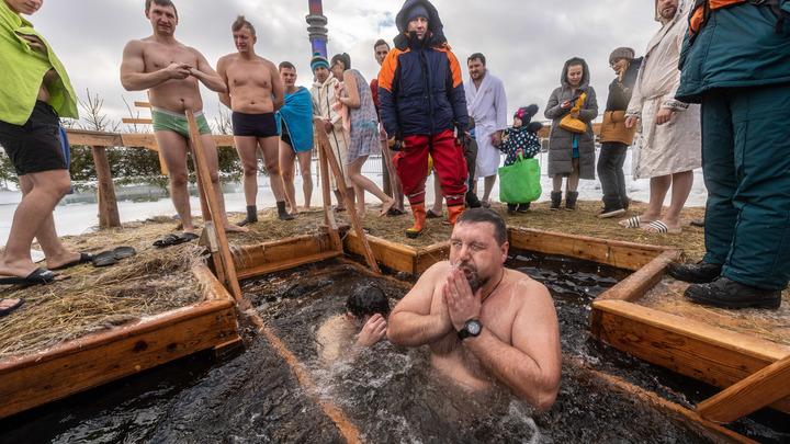 Просто верьте: Онищенко дал советы желающим окунуться в иордань на Крещение
