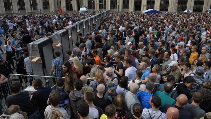 От гомосексуалистов до украинцев, от цыган до африканских студентов - портрет митинга оппозиции в Москве