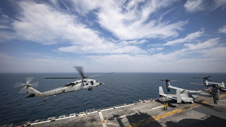 Небезопасные действия: Китайский эсминец ослепил лазером самолёт-разведчик США