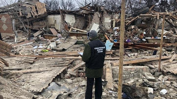 В Ростовской области взрывом газа разрушен дом: Трое пострадавших, включая подростка