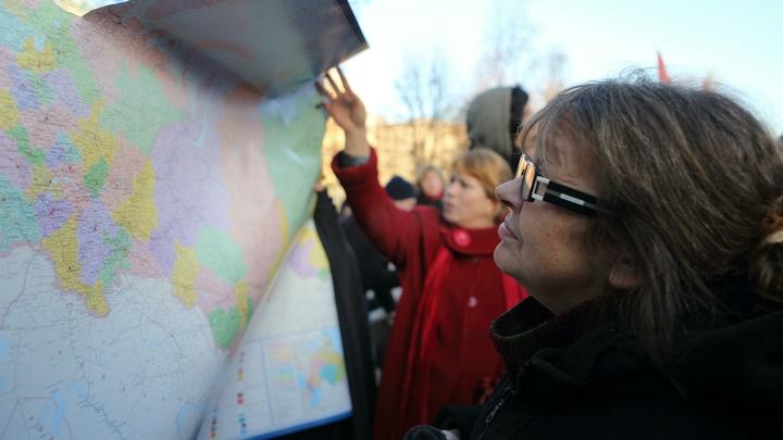 Карта распада России: Сценарий раскола написали за рубежом