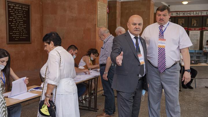 ОДКБ насторожило отсутствие наблюдателей на ряде избирательных участков в Армении