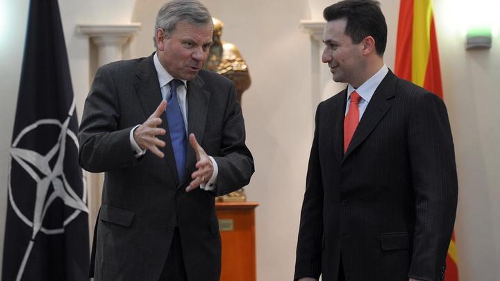Альянс НАТО направил Македонии официальное приглашение к вступлению
