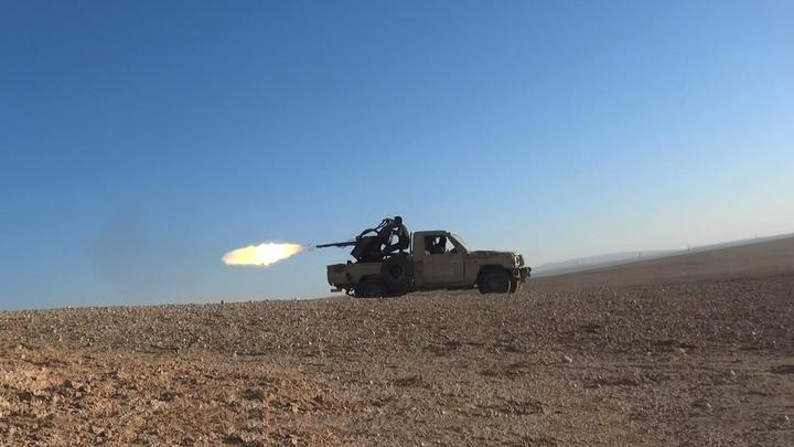 Техника спецназа США засветилась на снимках районов дислокации ИГИЛ в Сирии