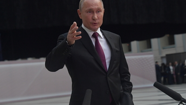 Прямая линия Путина перешла на новый формат: Телевидение не нужно