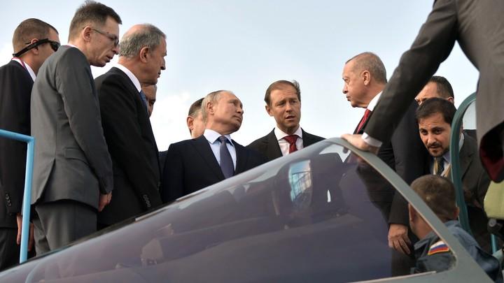 Не получивший путинского мороженого Эрдоган позарился на Су-57, но довольствовался орешками