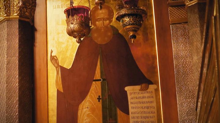 Преподобный Савва Сторожевский. Православный календарь на 23 августа