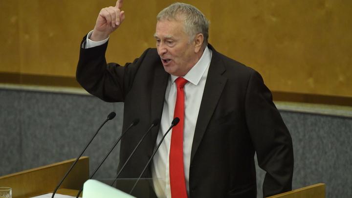 Голубой имидж подкосил Жириновского - политический консультант