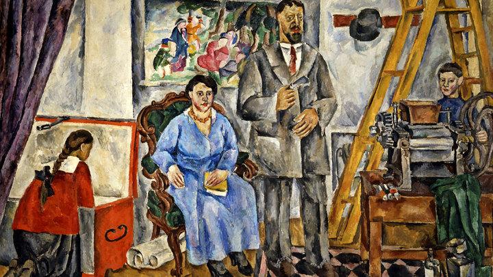 Выставки дня: К Цветаевой за ар-деко, рисовать – к Кончаловскому
