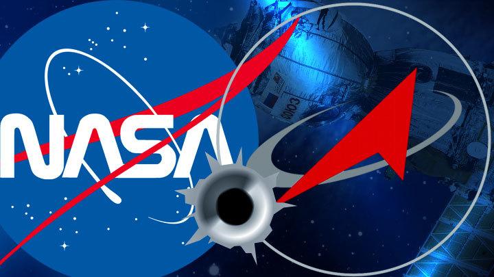 Дырка в «Союзе» перерастает в дыру в отношениях с НАСА
