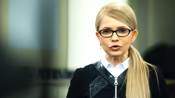 Тимошенко обвинила Порошенко в подготовке большой войны