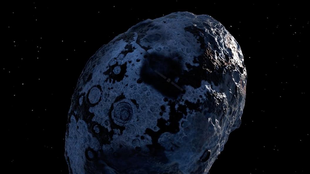 В Сети появилось уникальное видео с кружащим возле Марса спутником