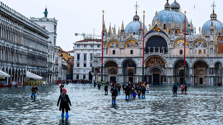 Венеция уходит под воду. Ждёт ли нас подобная участь