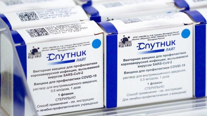 Во Владимирскую область поступило 6500 доз вакцины Спутник Лайт