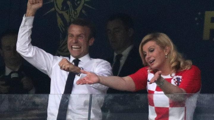 Не кричала «Слава Украине»: Президента Хорватии обвинили в проигрыше сборной на ЧМ-2018