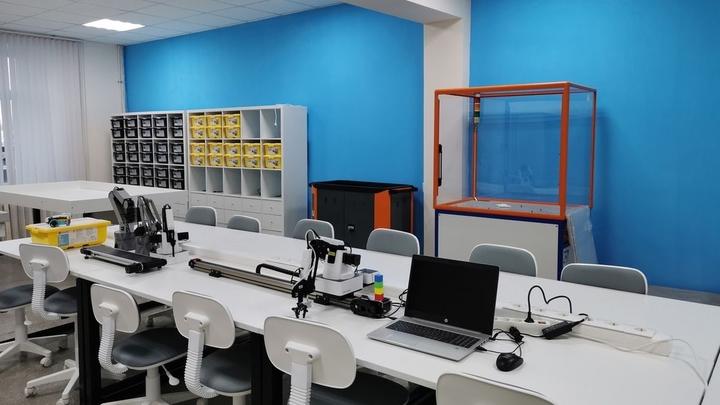 В Курганской области начались занятия в детском технопарке Кванториум в Шадринске