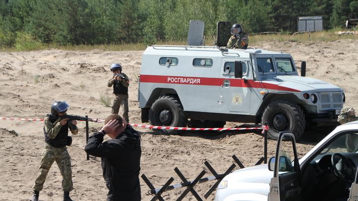 Нижегородские ОМОНовцы потренировались в уничтожении бандитов