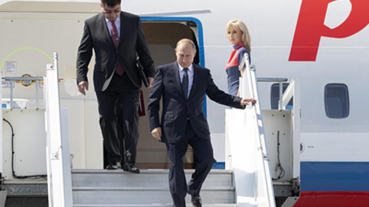 Путин уже в Австрии: СМИ сообщили о прибытии самолета президента РФ на свадьбу главы МИД страны
