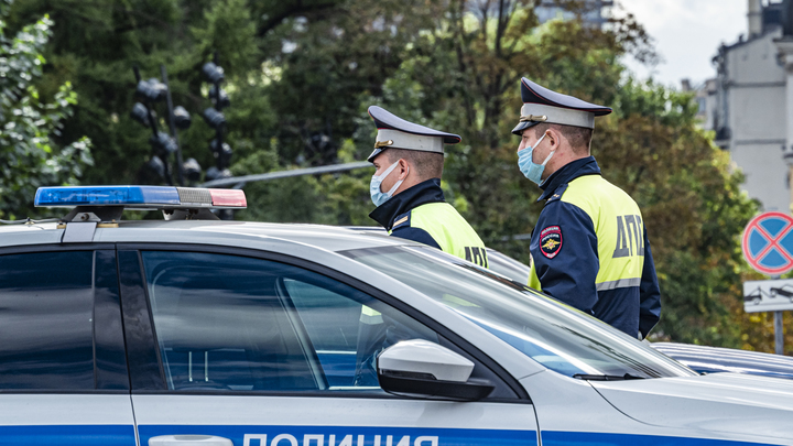 Перевернувшийся в Новосибирске автомобиль ДПС ехал на вызов об угоне