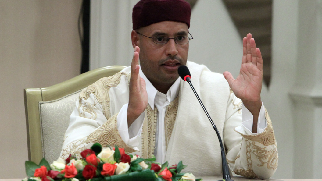Сын Муаммара Каддафи баллотируется впрезиденты Ливии
