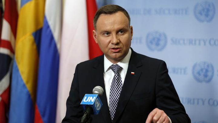 Польша возомнила себя щитом ЕС: Дуда выступил против Италии