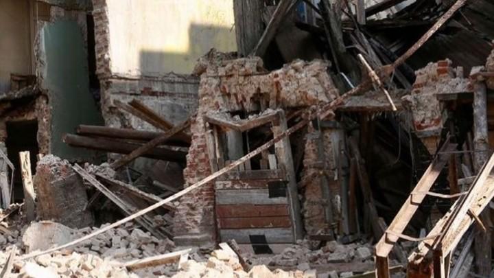 Власти назвали причину обрушения исторического здания в центре Ростова