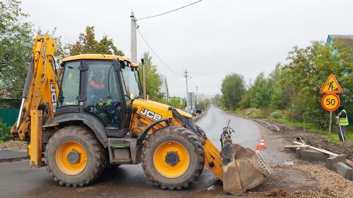 В Родниках Ивановской области завершают плановый ремонт дорог