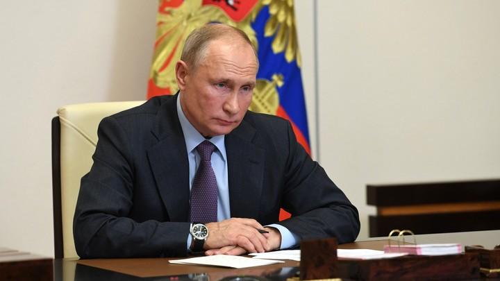 Владимир Путин говорит с экспертами после попытки Грефа захватить рынок. Прямая трансляция