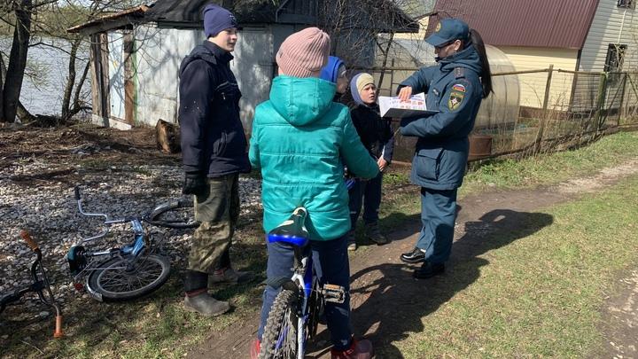 Во Владимирской области с 1 по 3 мая 22 раза горела трава и 12 раз - мусор