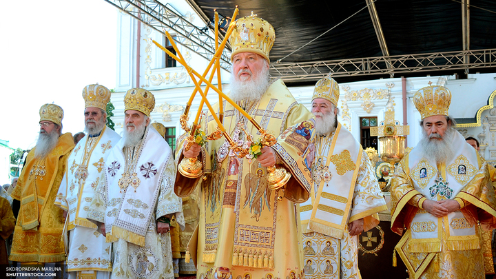 Патриарх Кирилл:Великорецкий крестный ход - это духовный подвиг