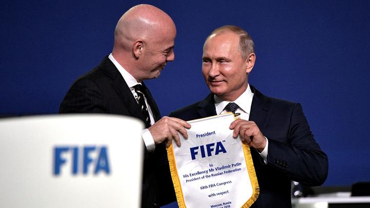 Путин: Поздравляю мировую многонациональную семью с началом главного турнира планеты