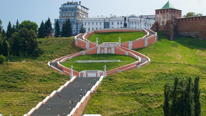 Нижегородцы смогут вновь пройтись по Чкаловской лестнице лишь 5 августа
