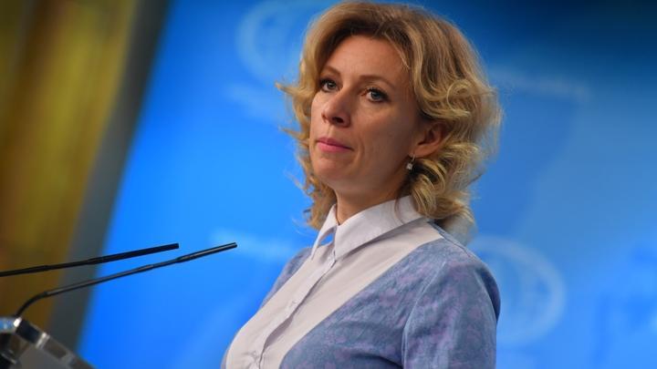 Мария Захарова сочинила сказку об отличном топливе Саакашвили-Карлсона