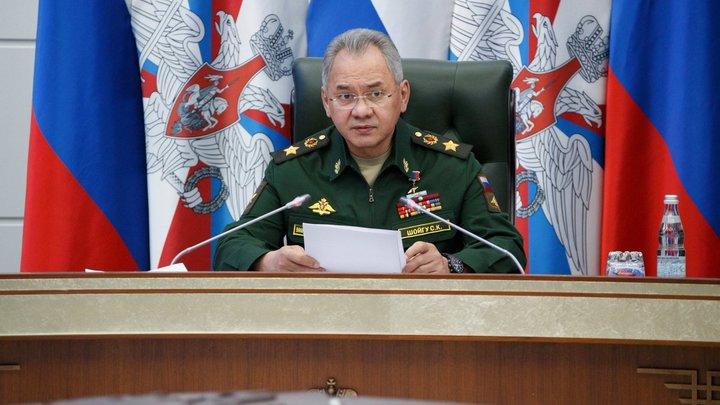 Мировой эксклюзив: Шойгу напрямую рассказал о военных целях России
