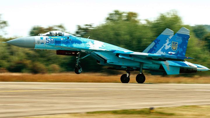 Боевая авиация ВСУ в небе над Донбассом