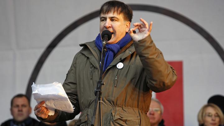 Михаил Саакашвили написал заявление на преступную группировку у власти