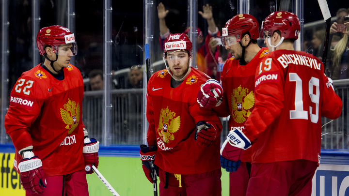 Хоккеисты России потренировалась на австрийцах