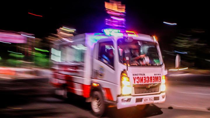 В Маниле рухнул самолёт с врачами и медикаментами: Столб огня - не выжил никто