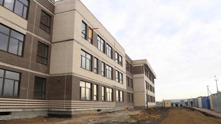 Готова на 65%: Самую большую школу в ЮФО на Западном Обходе Краснодара сдадут раньше срока