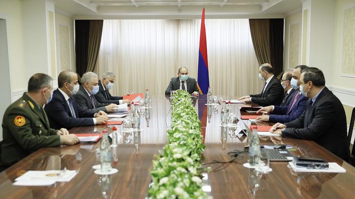 Никол Пашинян провел заседание Совета безопасности республики