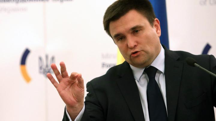Климкин при свидетелях обсудит с Лавровым миротворцев в Донбассе