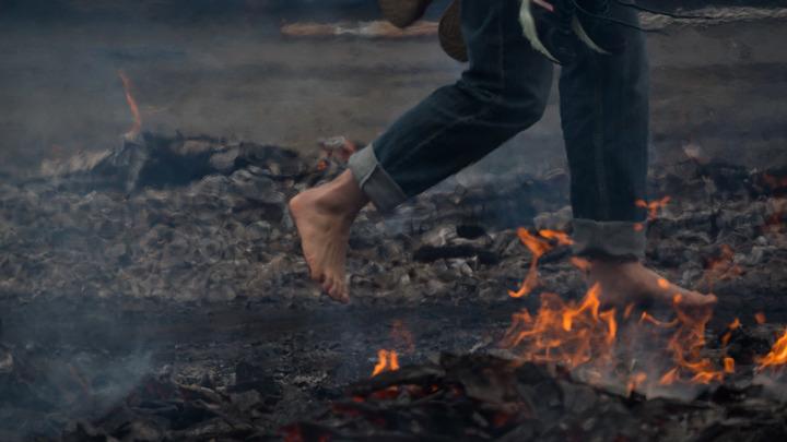 В Иерусалиме горит ветхозаветное святилище