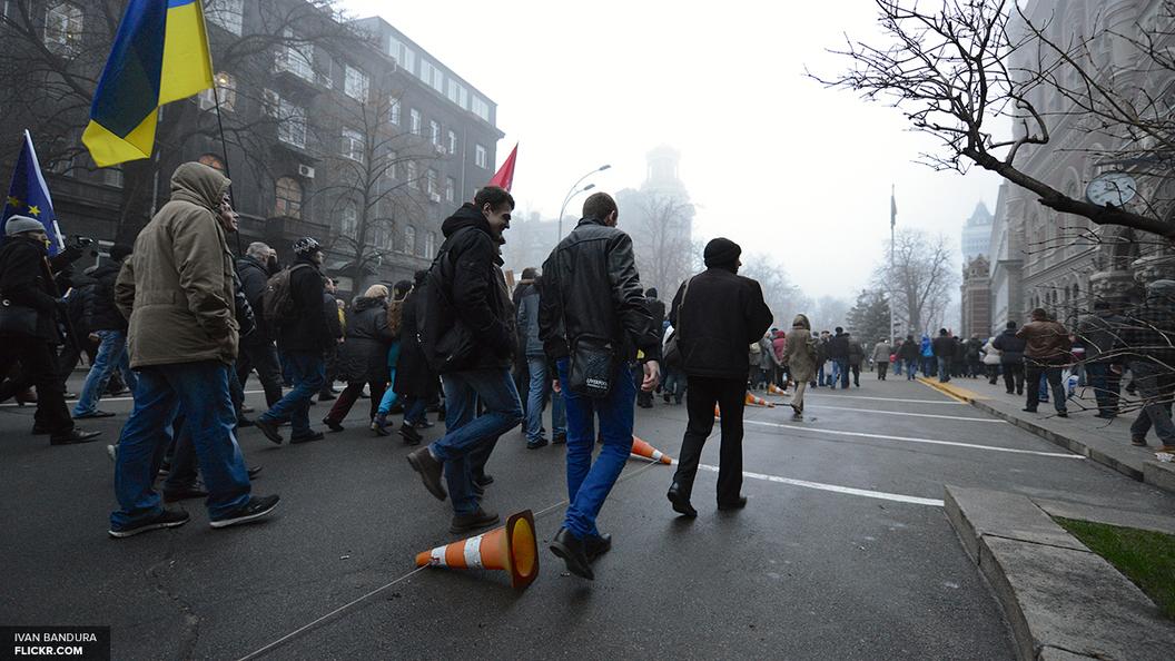 Полиция не разогнала блокаду Альфа-Банка в Одессе